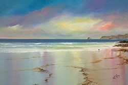 Pastel Shores by Philip Gray - Original Painting on Box Canvas sized 36x24 inches. Available from Whitewall Galleries